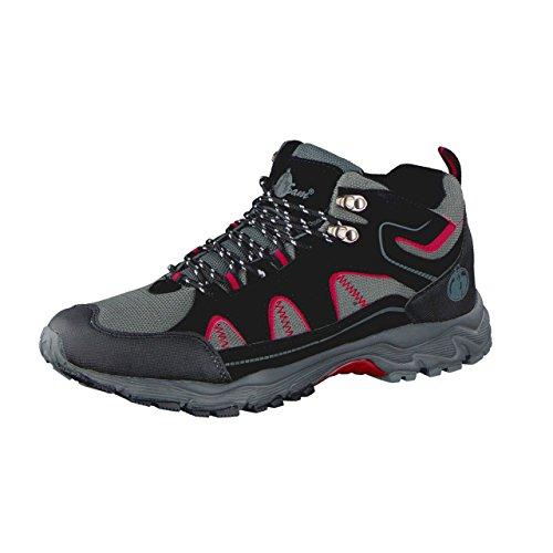 HSM - Zapatillas de Material Sintético para hombre, color gris, talla 44