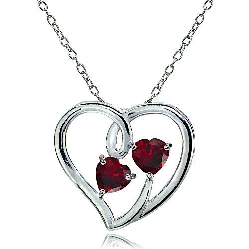 heart gem necklace - 5