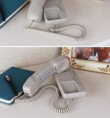 GAIXIA Fixed Telephone Family Bedside Table Telephone Wall Mounted Telephone Telephone Color : Black