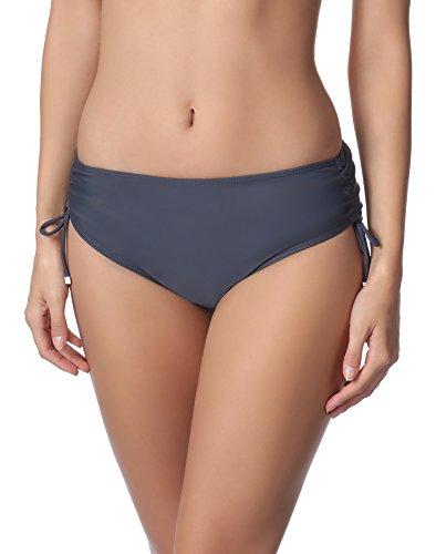 Merry Style Parte inferior Bragas Bikini para mujer M30 Grafito