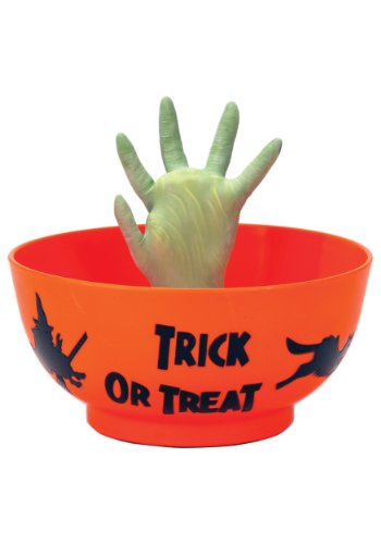 Halloween Monsters (Halloween Animated Prop Decoration: Monster Hand in Orange Bowl)