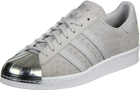 adidas Superstar 80s Metal Toe W Calzado 3,5 grey/silver