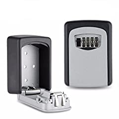 Buying Guide Please confirm the size before place order, especially when you have a big key need to be stored. There is an accurate size information in the picture.How to open: The initial password key safe is 0000, pushed up in front of a sm...