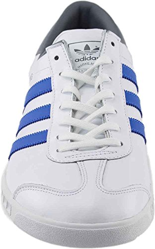 clearance low price fee shipping Adidas Originals Mens Hamburg Leather Fashion Sneakers White Blue Blue;white classic cheap online store with big discount 0b4T1pI