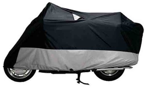 Dowco Guardian Weatherall Plus Cover - 2X-Large/Black/Grey (Weatherall Plus Motorcycle Cover)