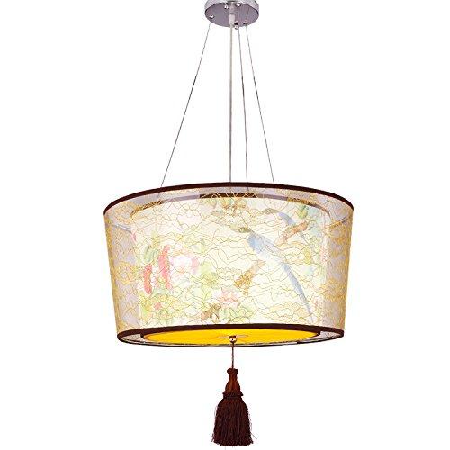 JJ moderno aparejo de luces LED de iluminación colgante doble nuevo chino candelabros Tea House Hotel China lámparas arañas de escalera viento atico ,50c: ...