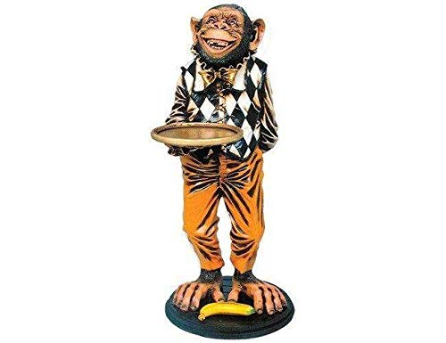 LM Treasures Animal Butler Monkey Prop Decor Resin Statue by LM Treasures (Image #7)