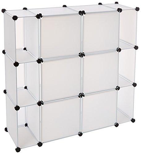 Mind Reader Storage Cube Organizer - Closet Organizer Cabinet, Shelving Unit
