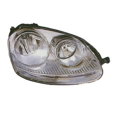 Depo 341-1118L-AS Volkswagen Jetta Driver Side Replacement Headlight Assembly