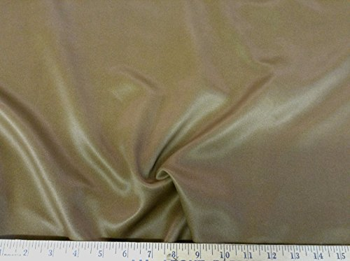 Discount Fabric Blackout Drapery Flame Retardant Solid Brown DR16