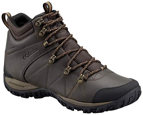 Columbia Men's Peakfreak Venture MID Waterproof Omni-Heat Hiking Boot, Cordovan, Caramel, 9.5 D US