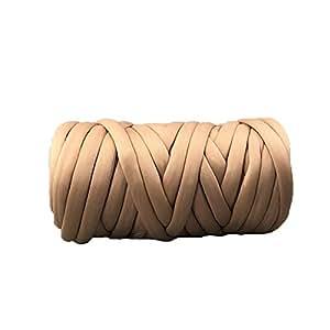 Amazon.com: Hilo grueso, hilo de algodón trenzado, hilo de ...