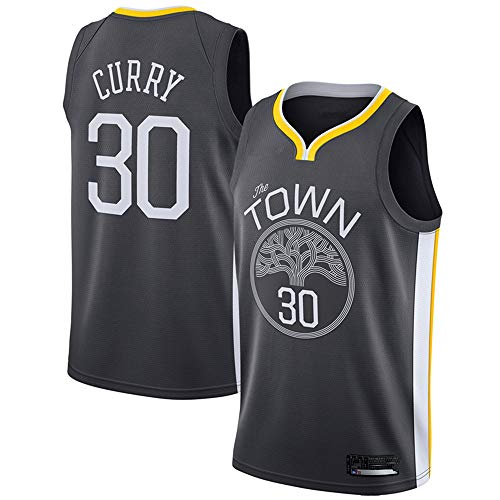 honesy Youth_Stephen_Curry_Black Swingman Jersey Statement Edition (Youth M)