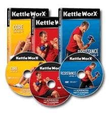 Kettleworx Advanced Kettlebell Workout 3 DVD Set