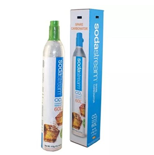 SodaStream Carbonator Spare CO2 Soda, Sparkling Water ,Makes up to 60 L (Face Gas Stove)