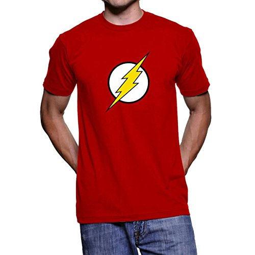 Decrum The Flash Logo Red Superhero