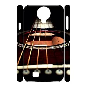 Guitar Customized 3D Case for SamSung Galaxy S4 I9500, 3D New Printed Guitar Case