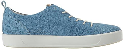 Ecco Mænds Bløde 8 Slips Mode Sneaker Indigo / Pulver s2j1gBrsb