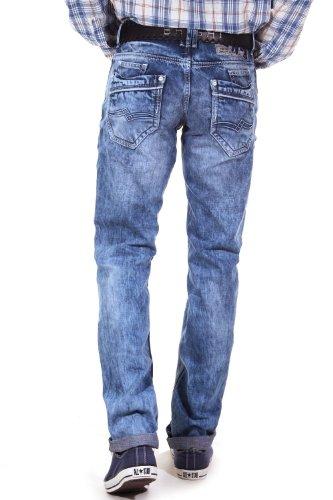 R-NEAL Jeans Regular Fit (blau)