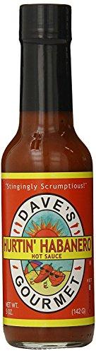 Dave's Gourmet 3 Piece Hurtin' Habanero Hot Sauce, 5 Ounce