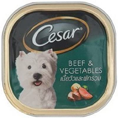Cesar Beef and Vegetable Dog Food 100g NEW Product of Thailand