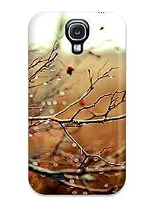 Cute High Quality Galaxy S4 Rain On Rosehip Branches Rose Hip Branch Water Drops Bokeh Depth Field Fall Nature Autumn Case