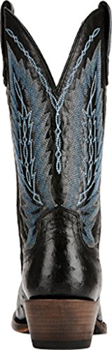 Ariat Men's Stock Show Western Cowboy Boot Black Full Quill Ostrich buy cheap footlocker pictures deals cheap price pay with visa online buy online authentic mHB1IphyS3