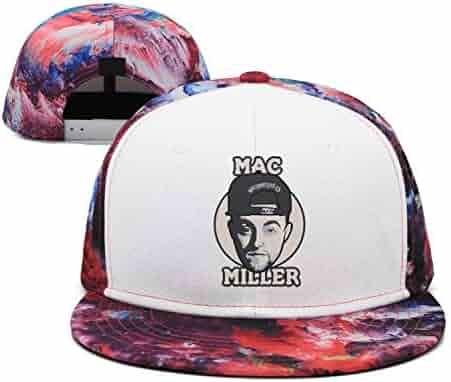 273074e7311 Mens Woman Adjustable Baseball Cap Mac-Miller-Logo- Fashion Sports Hat