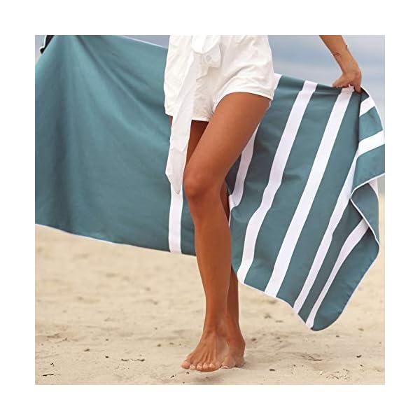 SummerSand Telo Mare Microfibra - Asciugamano Mare Antisabbia e ad Asciugatura Rapida - Telo Palestra Inodore… 3 spesavip