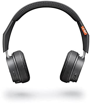 Plantronics Backbeat 505 Bluetooth Headphones bluetooth Headphones (Dark Grey, Over the Ear) Over-Ear Headphones at amazon