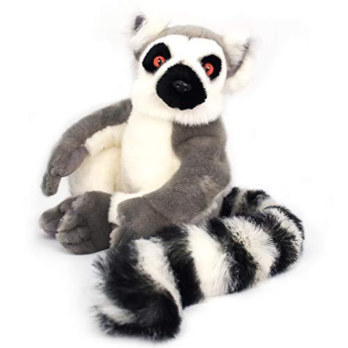 VIAHART Ringo The Ring-Tailed Lemur | 20 Inch (with Tail!) Madagascar Lemur Stuffed Animal Plush | by Tiger Tale Toys