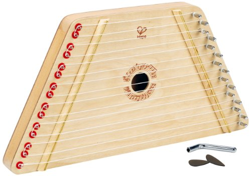 Hape Award Winning Happy Harp Kid's Wooden Musical Instrument