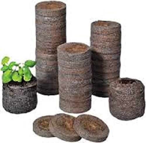 Tu Propio Jardín 10 Peat Pellets de 30 mm (para germinar y ...
