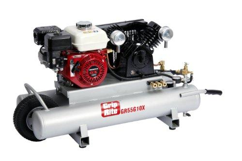Grip-Rite GR55G10X 5.5HP 10 Gallon Gas Wheelbarrow Compressor