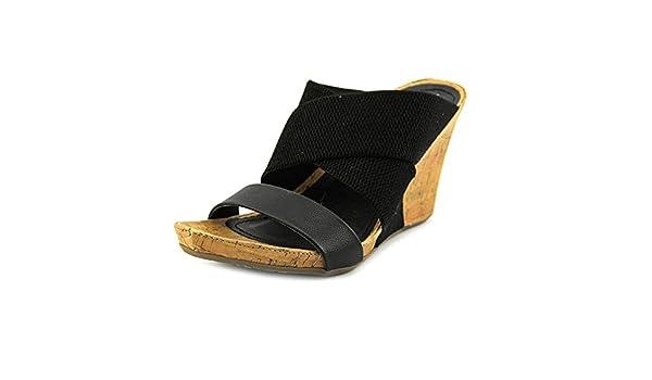 d016d7509d9a Unlisted Kenneth Cole Cob Web Women US 7.5 Black Wedge Sandal ...