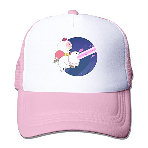 Retro-Bee-And-Puppycat-Laser-Adult-Nylon-Mesh-Hat