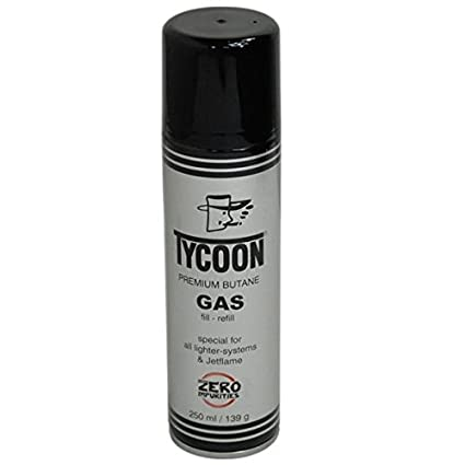 Premium Mechero de Gas Gas Butano Gas lata con relleno 250 ml Lata perfecto para mecheros