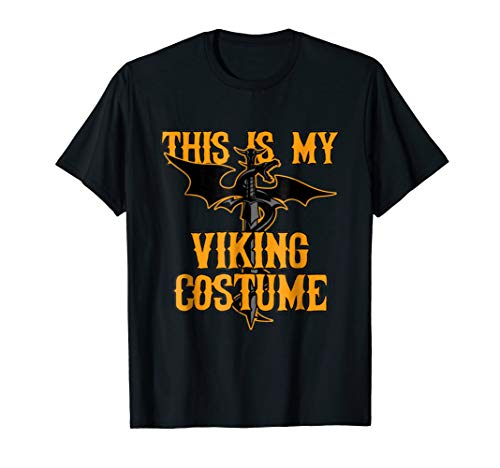 This Is My Viking Costume Halloween T-Shirt for $<!--$17.99-->