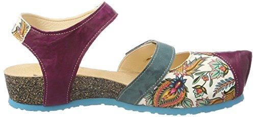 79 282376 Multicolore Fermé kombi Kessy Bout Sandales Think Femme lagune zUqvPww