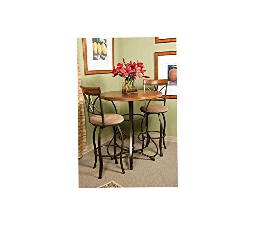 - Wood & Style Swivel Bar Stool Decor Comfy Living Furniture Deluxe Premium Collection