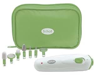 Scholl DRSP3856GE - Aparato para hacer manicura de viaje, color rosa