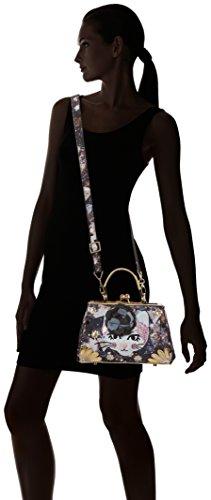 Irregular Choice Damen Purfect Pose Shopper, Schwarz (Black), 12x18x28 cm