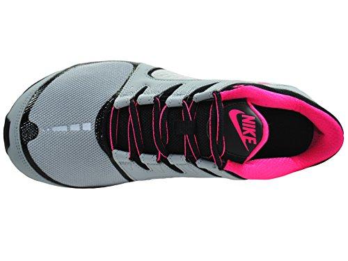 09d4b3a9a70ce0 NIKE Women s Shox Vaeda Wolf Grey Vivid Pink Black Synthetic Running Shoes  8 M
