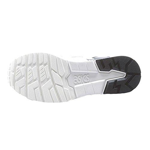 Asics Gel Lyte V, Chaussures De Course À Pied Pour Homme Blanc Blanc, Noir