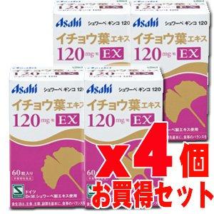 シュワーベギンコ120EX 60粒x4個 B0090WJTLK
