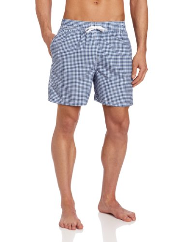 (Kanu Surf Men's Monaco Swim Trunks (Regular & Extended Sizes), Navy, Medium)