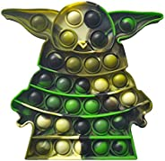 HooYiiok Push Pop Pop Bubble Sensory Fidget Toy, Stress Reliever Tie-dye Fidget Toys That Suitable for ADHD an
