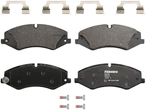 set of 4 Ferodo FDB4221 Brake Pad Set disc brake
