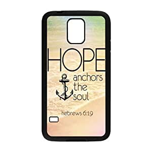 New Arrival Anchor Quotes High Quality TPU Case Cover For Samsung Galaxy S5