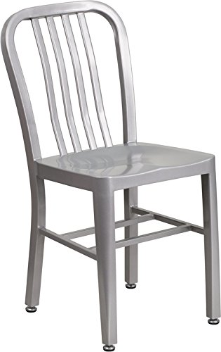 stainless steel chair - 1
